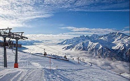 Lyžování v srdci rakouských Alp u ledovce Grossglockner. 3* hotel s neomezeným wellnessem