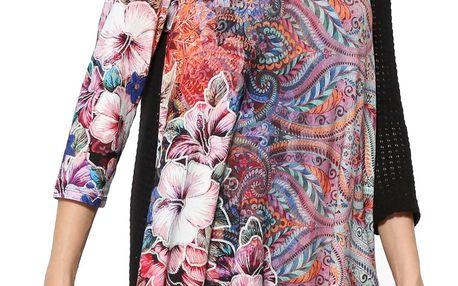 Desigual barevné tričko Picos Freya