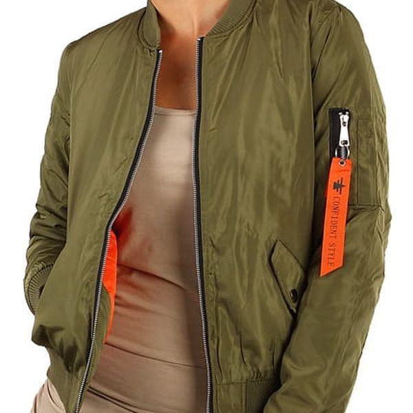 Army dámská bunda - bomber světle zelená