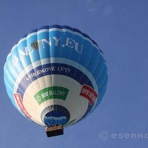 60minutový let velkým balónem v Čechách i na Moravě