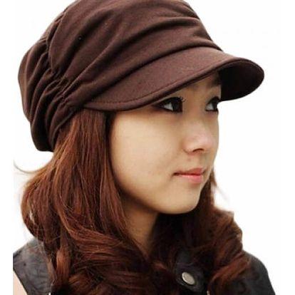 Dámská čapka s kšiltem - 3 barvy