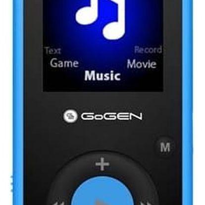 MP3 přehrávač GoGEN Maxipes Fík MAXI MP3 B modrý