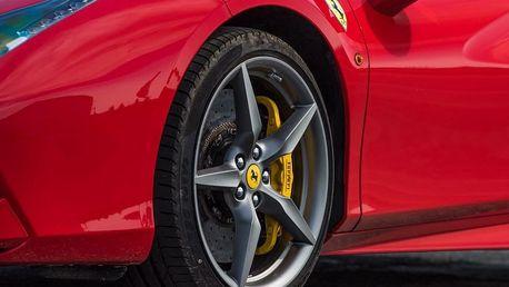 Super jízda ve Ferrari 488 Spider na okruhu
