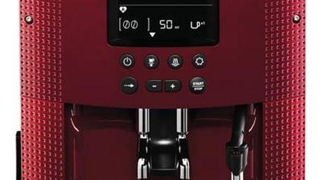 Espresso Krups EA815570 červené + DOPRAVA ZDARMA
