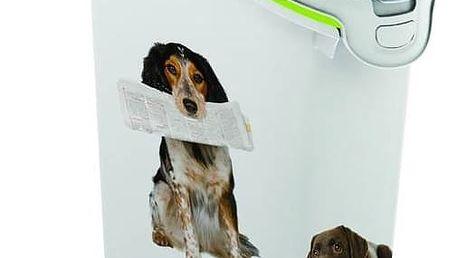Box na krmivo Curver kontejner na 10 kg suchého krmiva pro psy