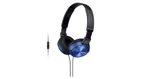 Sluchátka Sony MDRZX310APL.CE7 (MDRZX310APL.CE7) modrá