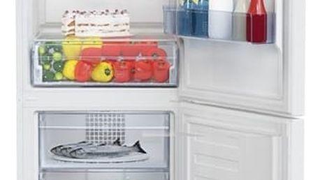 Kombinace chladničky s mrazničkou Beko RCNA 340 K30W bílá + DOPRAVA ZDARMA