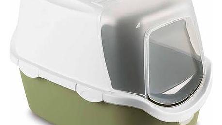 Toaleta Stefanplast Cathy Easy Clean uzavíratelná / zelená