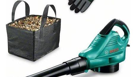 Vysavač listí Bosch ALS 30 + sběrný koš a rukavice + Doprava zdarma