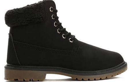 Dámské černé kotníkové boty Danah 801