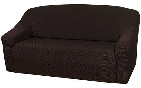 4Home Multielastický potah na sedací soupravu Elegant hnědá, 180 - 220 cm, 180 - 220 cm