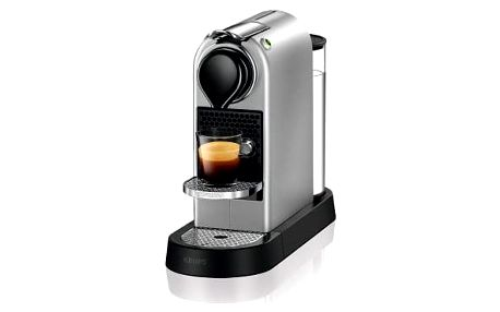 Espresso Krups Nespresso Citiz XN740B10 titanium + DOPRAVA ZDARMA