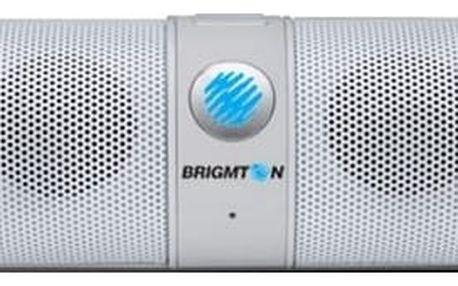 Přenosný reproduktor s Bluetooth BRIGMTON BAMP-611 2 x 3W Bílý
