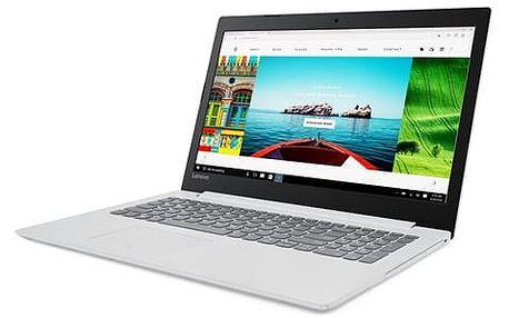 Notebook Lenovo 320-15ISK (80XH003PCK) bílý Software F-Secure SAFE 6 měsíců pro 3 zařízení + Monitorovací software Pinya Guard - licence na 6 měsíců v hodnotě 999 Kč + DOPRAVA ZDARMA