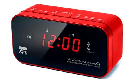 Radiobudík NEW ONE CR120R červený