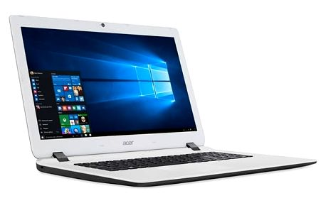 Notebook Acer ES17 (ES1-732-P6RN) (NX.GH6EC.003) černý/bílý + DOPRAVA ZDARMA