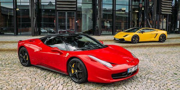 Super jízda ve Ferrari F458 Italia v Praze, Brně, Olomouci a Ostravě