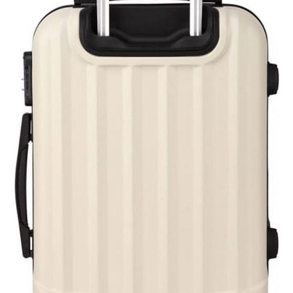 Cestovní střední béžový kufr Trip 17733