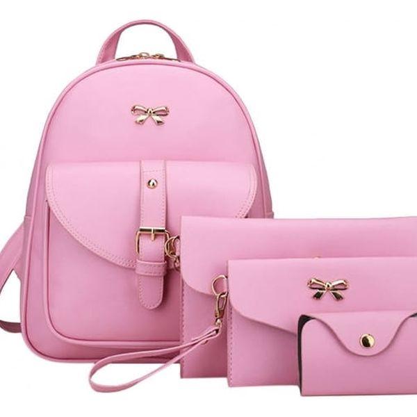 Sada batohu, kabelky a peněženek