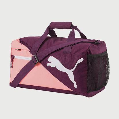 Taška Puma Fundamentals Sports Bag S Dark Purple Fialová