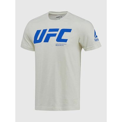 Tričko Reebok UFC FG LOGO SS TEE Bílá