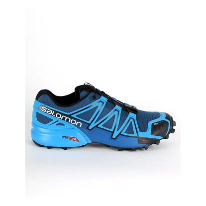 Boty Salomon SPEEDCROSS 4 CS Blue Depth/BL/BK Modrá