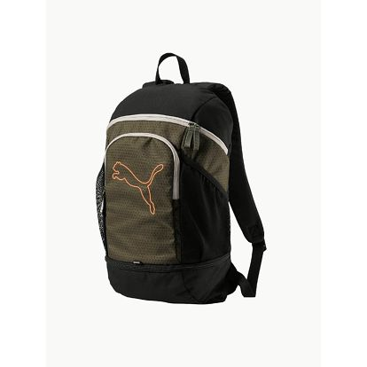 Batoh Puma Echo Backpack Olive Night-Shocking Barevná