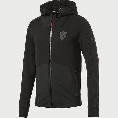 Mikina Puma Ferrari Hooded Sweat Jacket Barevná