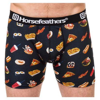 Pánské Boxerky Horsefeathers Sidney Boxer Shorts Fast Food S