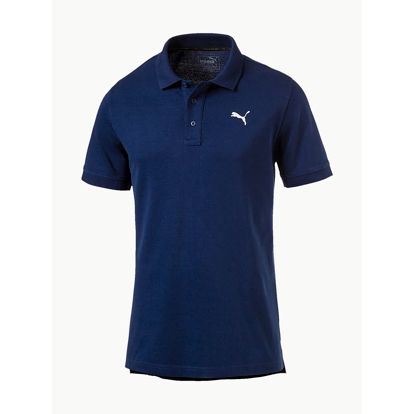 Tričko Puma Ess Pique Polo Blue Depths Modrá
