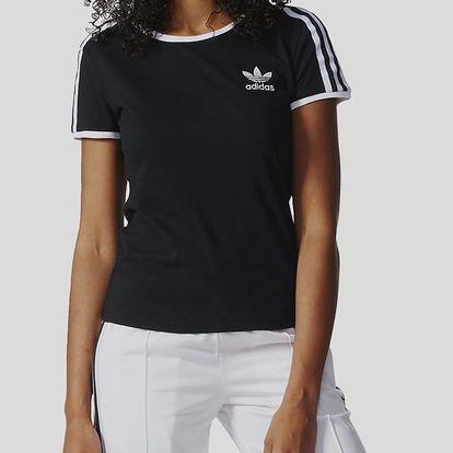 Tričko adidas Originals SANDRA 1977 TEE Černá