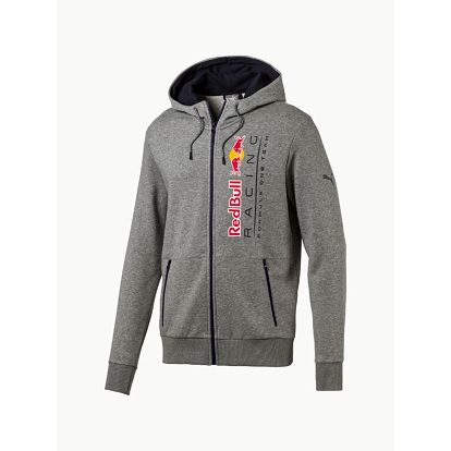 Mikina Puma RBR Hooded Sweat Jacket Šedá