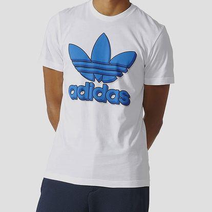 Tričko adidas Originals LKWHEEL Bílá