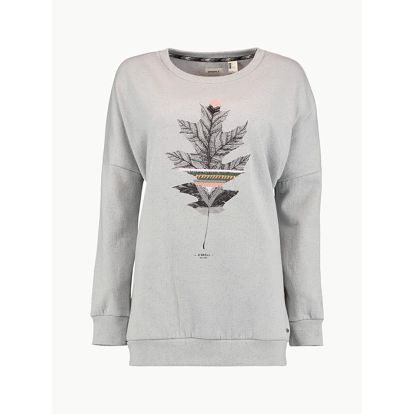 Mikina O´Neill LW Peaceful Pines Sweatshirt Šedá