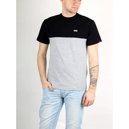 Tričko Vans Mn Colorblock Tee Black-Athletic Barevná