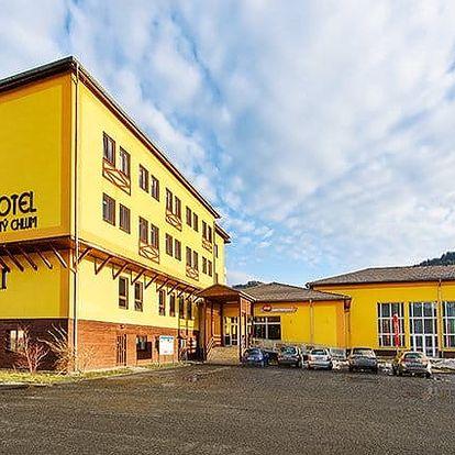 3 až 6denní pobyt pro 2 osoby se snídaněmi a saunou v hotelu Zlatý Chlum*** v Jeseníkách