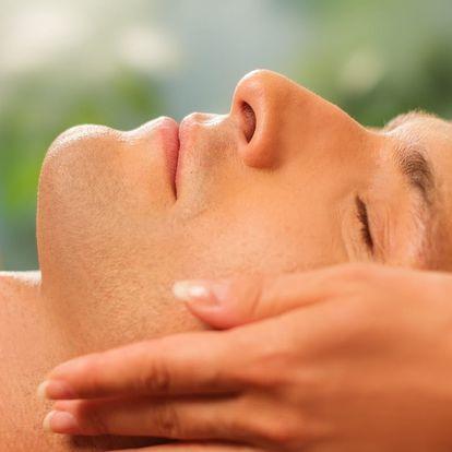 Ošetření pro pány s masáží očního okolí