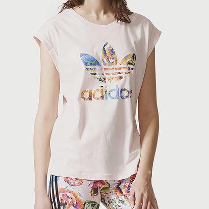 Tričko adidas Originals FLORALITA TEE Barevná