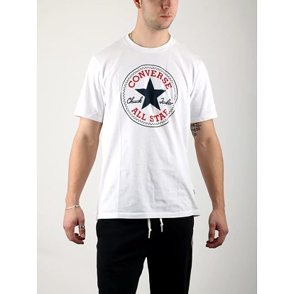 Tričko Converse Core Chuck Patch Tee Bílá