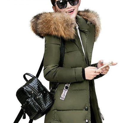Prošívaná dlouhá bunda Gigi - 5 barev