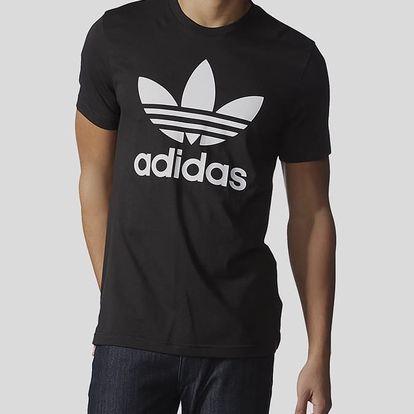 Tričko adidas Originals ORIG TREFOIL T Černá
