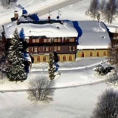 Zimní pobyt ve Špindlerově Mlýně v Alpském Hotelu na 3, 4 nebo 5 dní pro 2 osoby.