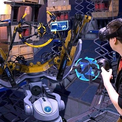 Hodina plná zážitků ve světě virtuální reality