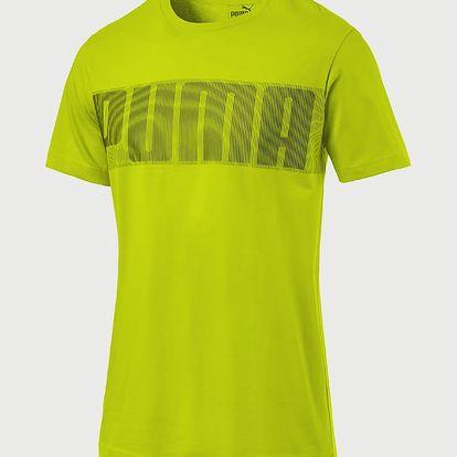 Tričko Puma Active Hero Tee Žlutá