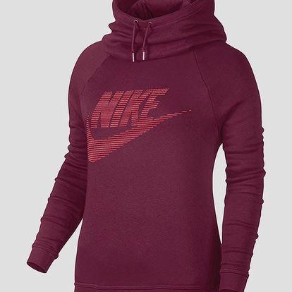 Mikina Nike W NSW RALLY FNL GX1 Červená