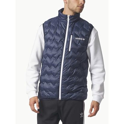 Vesta adidas Originals SERRATED VEST Modrá