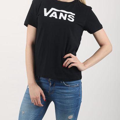 Tričko Vans Wm TimeleSS Basic Black Černá