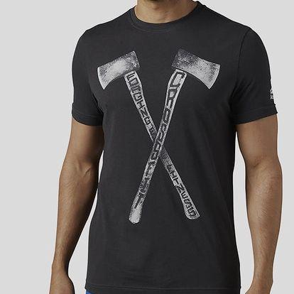 Tričko Reebok RC AXE TEE Černá