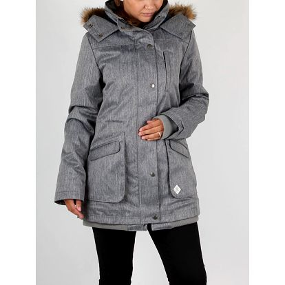 Bunda Vans W Cadet Parka Mte Grey Heather Šedá
