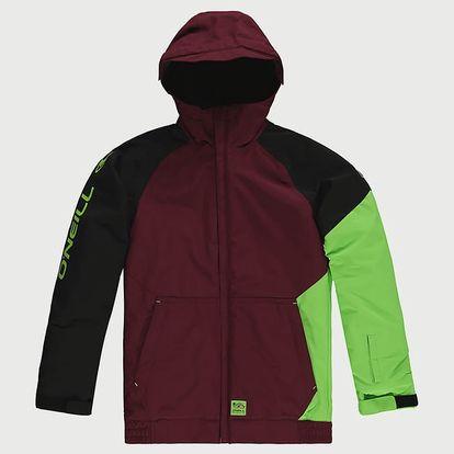 Bunda O´Neill PB Grid Jacket Červená